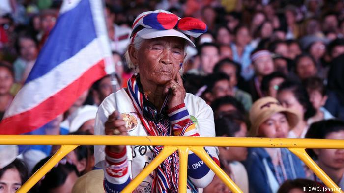 Thailand Streik in der thailändischen Hauptstadt Bangkok