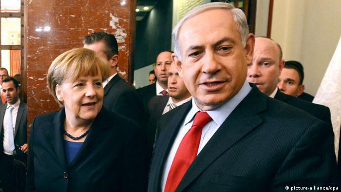 Angela Merkel und Benjamin Netanjahu Regierungskonsultationen 25. Feb. 2014 (Foto: Rainer Jensen /dpa)