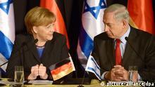 Angela Merkel und Benjamin Netanjahu Regierungskonsultationen 25. Feb. 2014