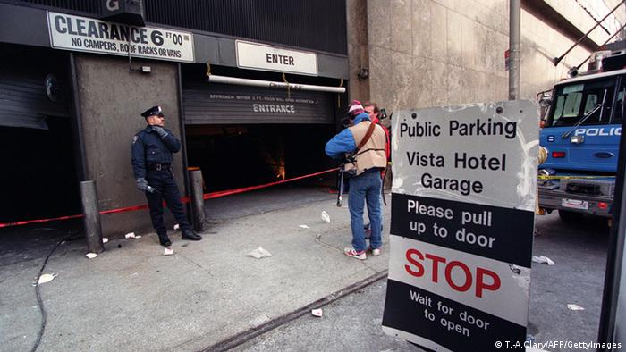 Anschlag World Trade Center 1993 USA Autobombe