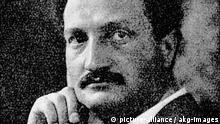 Undatiertes Porträt des deutschen Politikers Ludwig Frank (1874-1914).