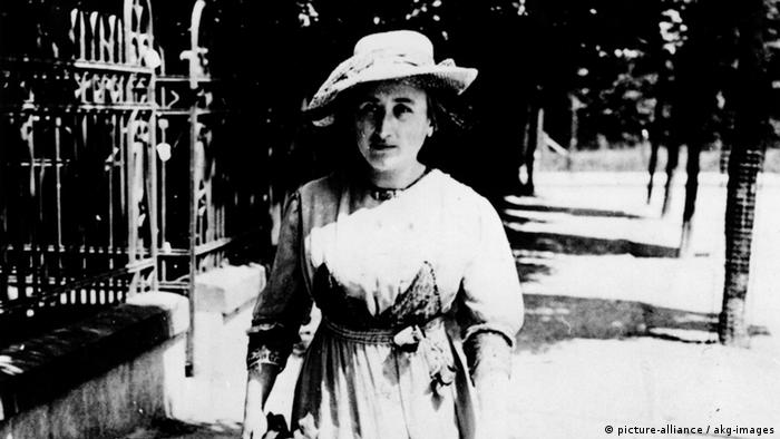 Rosa Luxemburg (Photo: picture-alliance / akg-images)