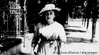رزا لوکزمبورگ در سال ۱۹۱۴ در برلین