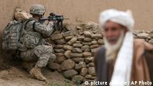 Symbolbild Verhältnis USA Afghanistan