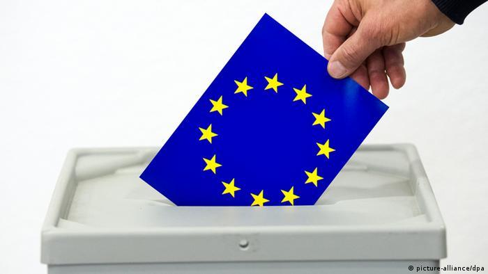 Symbolbild Europawahl 2014 (picture-alliance/dpa)