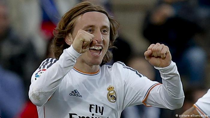 Fußball Real Madrid Luka Modric
