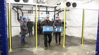 Saatguttresor in Svalbard neues Saatgut