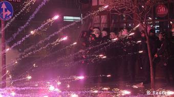 Türkei wieder Zusammenstöße bei Protesten gegen Regierung