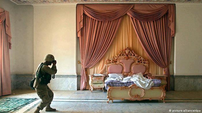 Спальная комната Саддама Хусейна