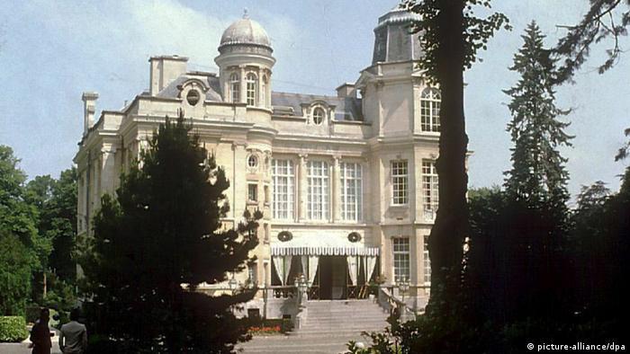 Особняк Мобуту в Бельгии