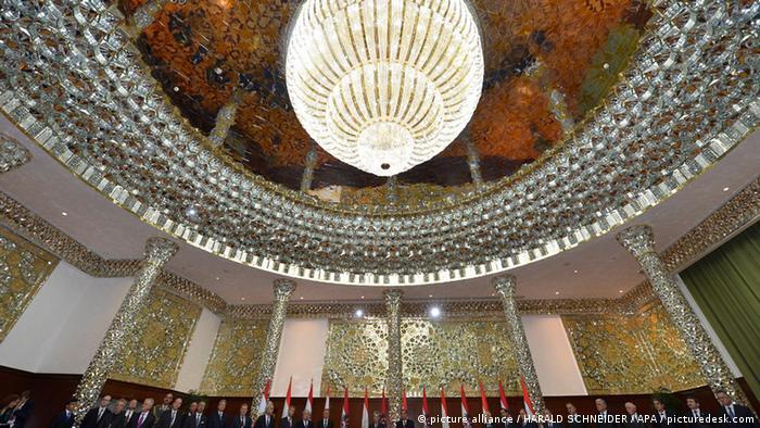Дворец Рахмона в Душанбе