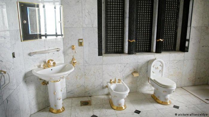 Туалетная комната Саддама Хусейна