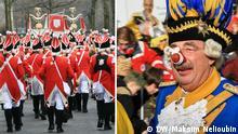 Wie funktioniert Rosenmontagszug in Köln: Karnevals-ABC. Galerie für Deutschland entdecken. Bilder 2007-2013. Copyright: DW / Maksim Nelioubin.