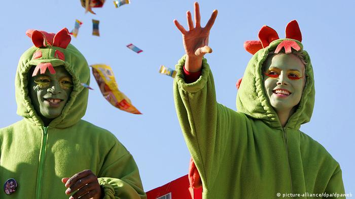 Karneval Heidi Klum Seal (picture-alliance/dpa/dpaweb)