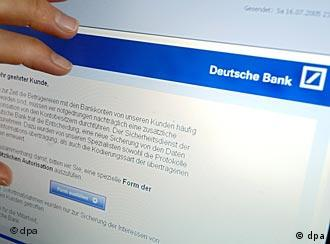 Pfishing u Deutsche Bank