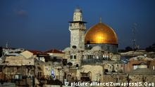 Felsendom Jerusalem (picture-alliance/Zumapress/S. Qaq)