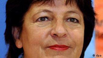 German Health Minister Ulla Schmidt