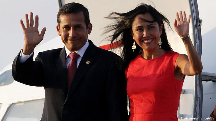 Nadine und Ollanta Heredia de Humala (picture-alliance/dpa)