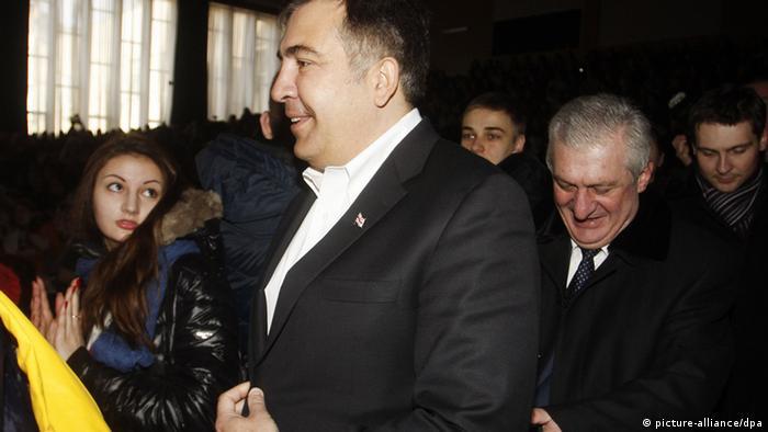 Михаїл Саакашвілі в Києві