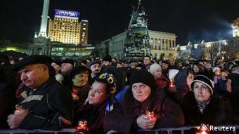 Demonstranti na Majdanu u Kijevu