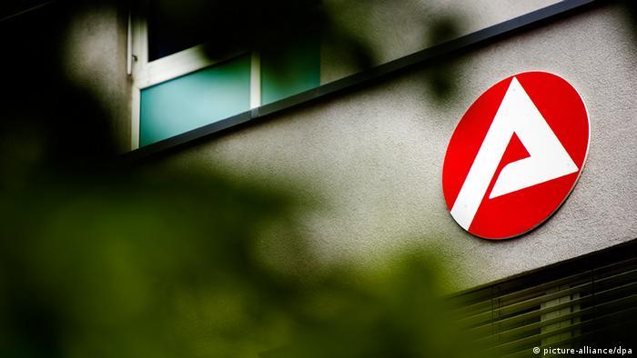 Bild der Agentur für Arbeit Foto: Arno Burgi/dpa