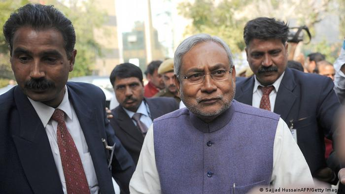 Indien Wahlen Nitish Kumar (Sajjad HussainAFP/Getty Images)