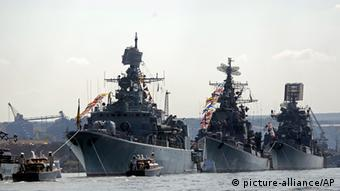Ships in the Russian navy's fleet