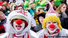 Deutschland Karneval 2014 Weiberfastnacht Köln