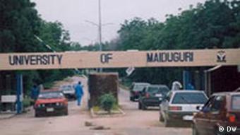 Entrance to Maiduguri University