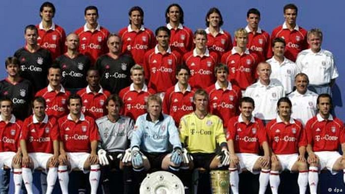 فلیکس ماگات دوبار در سالهای ۲۰۰۵ و ۲۰۰۶ موفق شد بایرن مونیخ را به عنوان قهرمانی برساند. مونیخ در همین سالها هم قهرمانی جام حذفی را با ماگات بدست آورد. او سپس به تیم ولفس بورگ پیوست و در سال ۲۰۰۹ با این تیم قهرمان بوندس لیگا شد. (عکس: نفر اول در ردیف دوم از سمت راست ایستاده پشت سر علی کریمی)