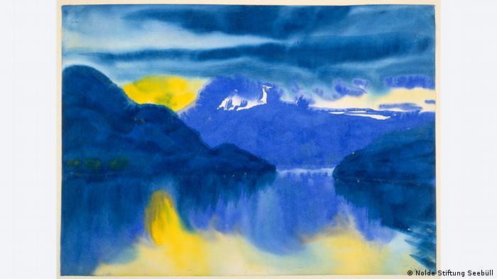 Vierwaldstätter See von Emil Nolde (Foto: Städel)