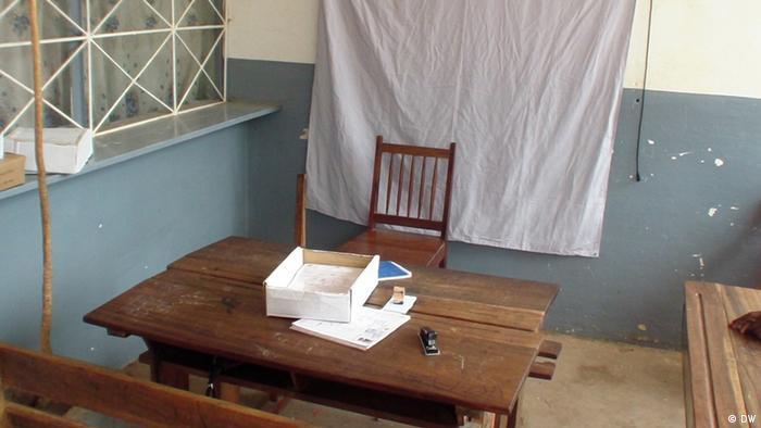 Wahlregistrierung in Nampula Mosambik
