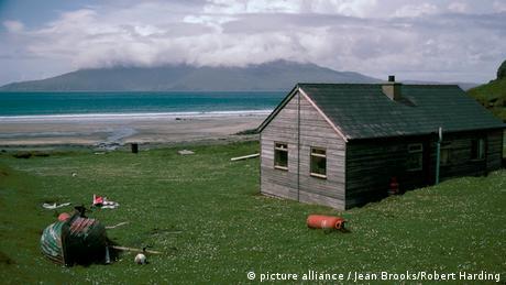 Eigg eine der kleinen Inseln der inneren Hebriden