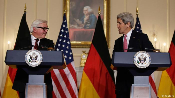 Frank-Walter Steinmeier in Washington