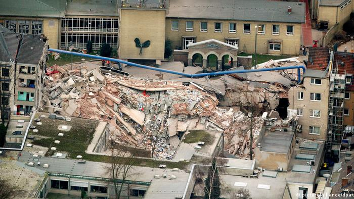 Cologne archive collapsed (dpa)