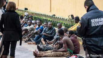 Flüchtlinge in Melilla