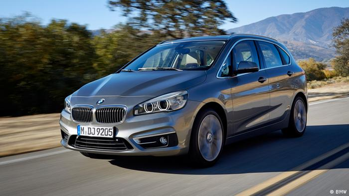 Autosalon Genf 2014 BMW 2er Active Tourer
