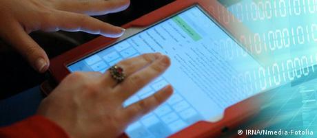 Picture-Teaser Frauen und Internet Persisch (IRNA/Nmedia-Fotolia)