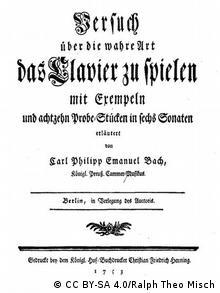 Carl Philipp Emanuel Bach Versuch über die wahre Art das Clavier zu spielen