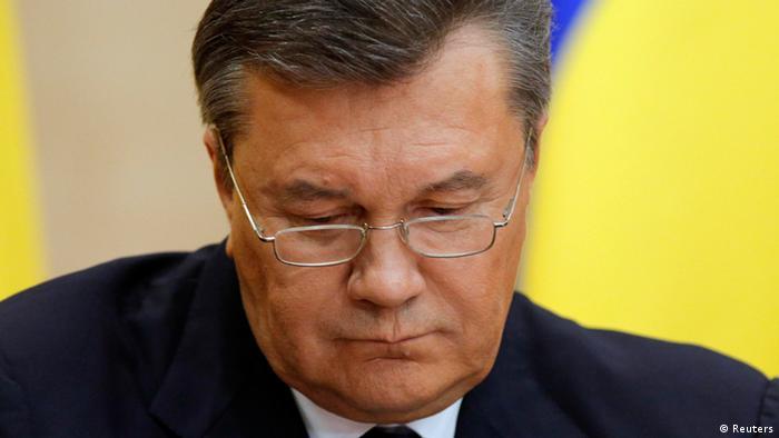 Віктор Янукович, лютий 2014 року