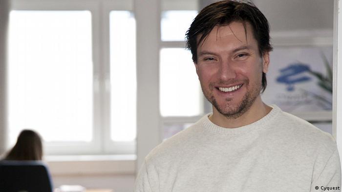 Joachim Diercks, Geschäftsführer des Unternehmens Cyquest