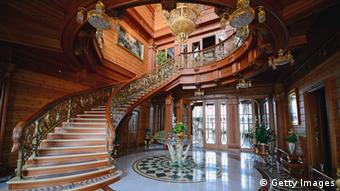 В бывшей резиденции Януковича Межигорье