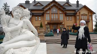 Yanukovych's residence (Photo: Jeff J Mitchell/Getty Images)
