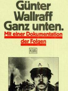 Buchcover Günter Wallraff Ganz unten