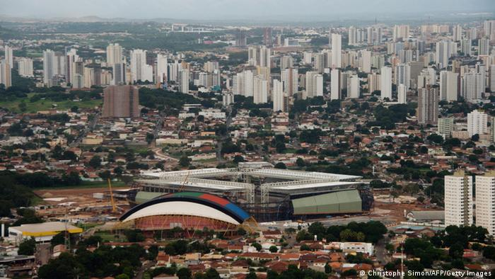 Cuiaba Luftaufnahme (Foto: Christophe Simon/AFP/Getty Images)