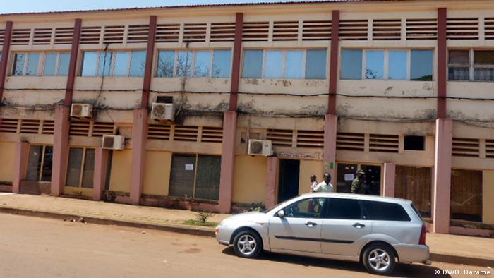 Prédio da Rádio Nacional da Guiné-Bissau