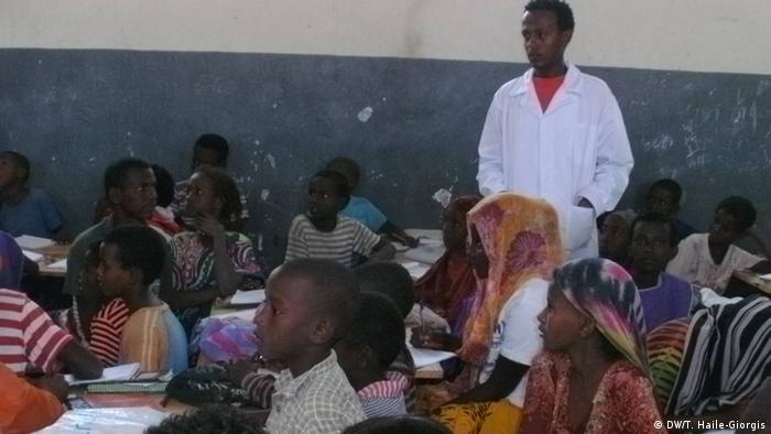 Flüchtlingslager in Afar, Äthiopien