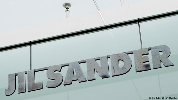 Logo der Luxusmarke Jil Sander