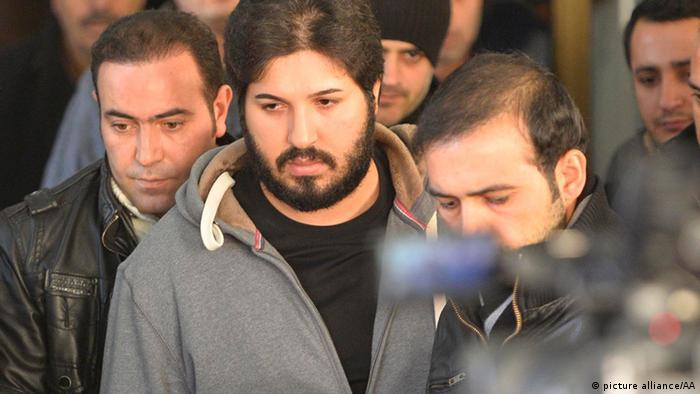 Reza Zarrab vorläufig aus Haft entlassen (picture alliance/AA)