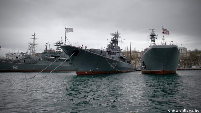 Кораблі Чорноморського флоту РФ у Севастополі
